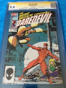 Daredevil-238-Marvel-CGC-SS-9-4-NM-Signed-by-Sal-Buscema-Sabretooth
