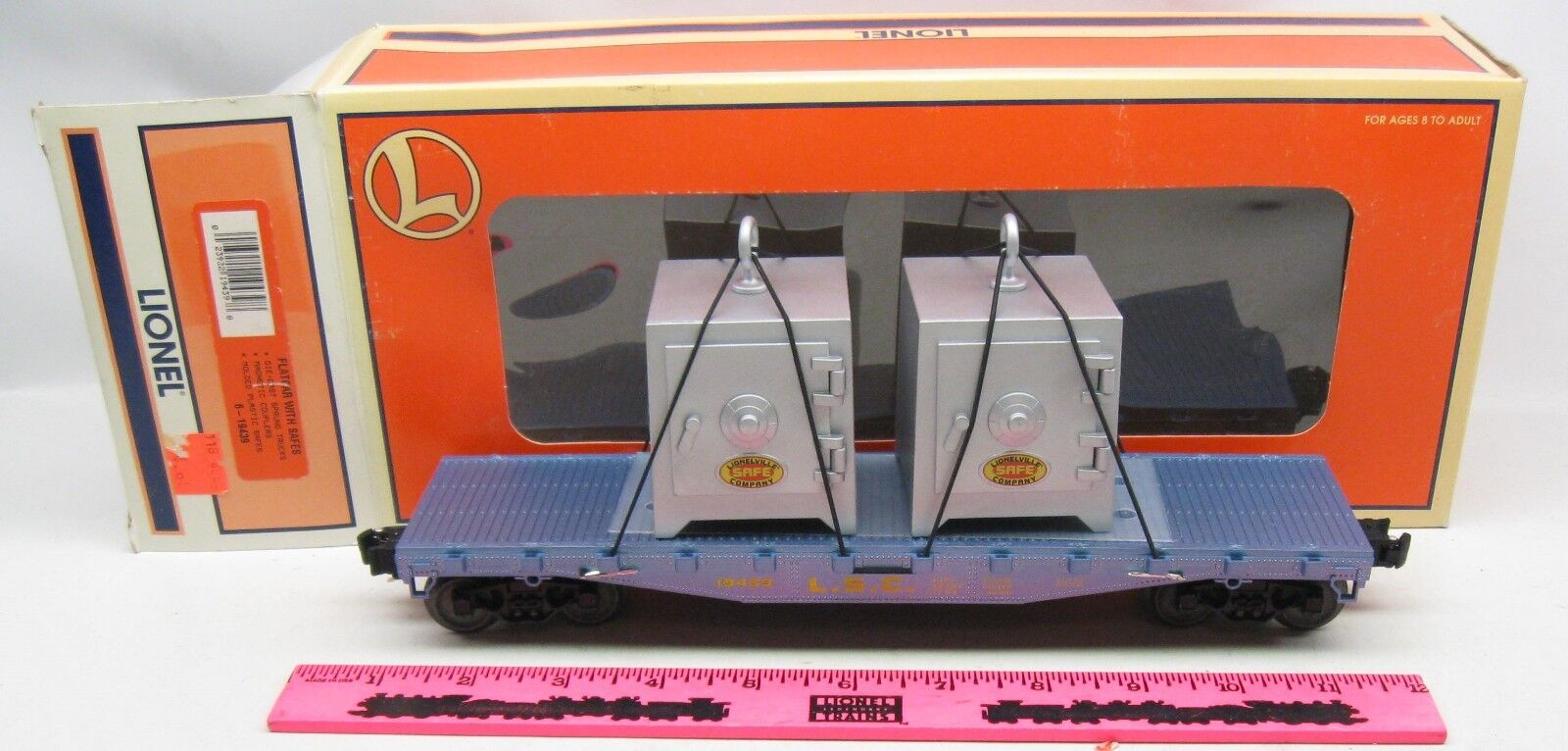 Lionel  6-19439 Flatcar with Safes