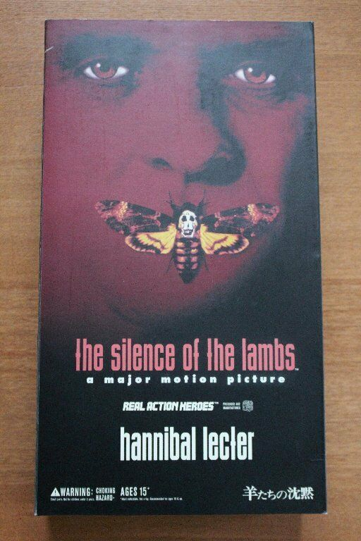 Medicom Toy RAH Real Action Heroes Hannibal Lecter Silence of the Lambs Japan