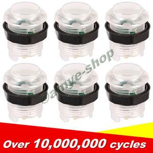 6x-30MM-LED-Arcade-Buttons-for-Arcade-DIY-Arcade-Repair-MAME-5V-0-11-034-legs