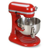 Kitchenaid Kp26m1xer Pro 600 Stand Mixer 6 Qt Big Super Large Capacity Red