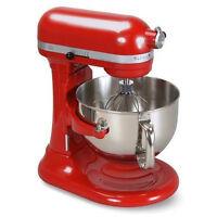 Kitchenaid Kp26m1xer Pro 600 Stand Mixer 6 Qt Big Super Large Capacity Red on sale