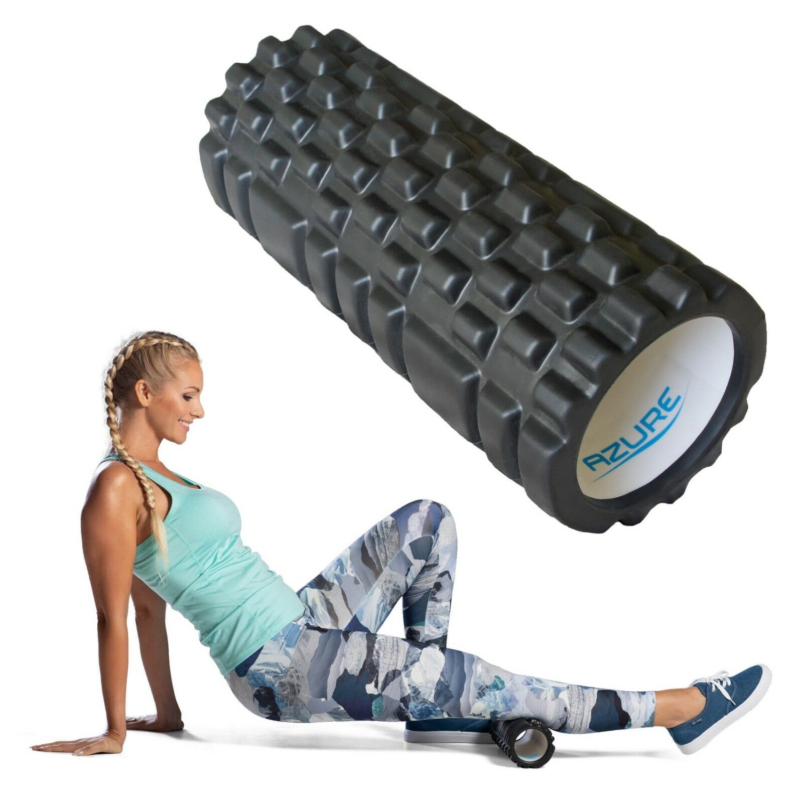 Yoga Muscle Rehab Trigger Point Massage Grille mousse rouleau Pilates Physio assesroy