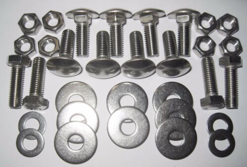 """VW T2 Late Bay /""""Europa/"""" Bumper Fitting Bolts VW Stainless Steel"""