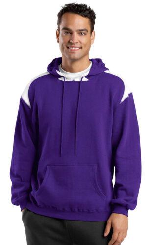 Sport-Tek Men/'s Athletic Pouch Pocket Pullover Winter Hooded Sweatshirt F264