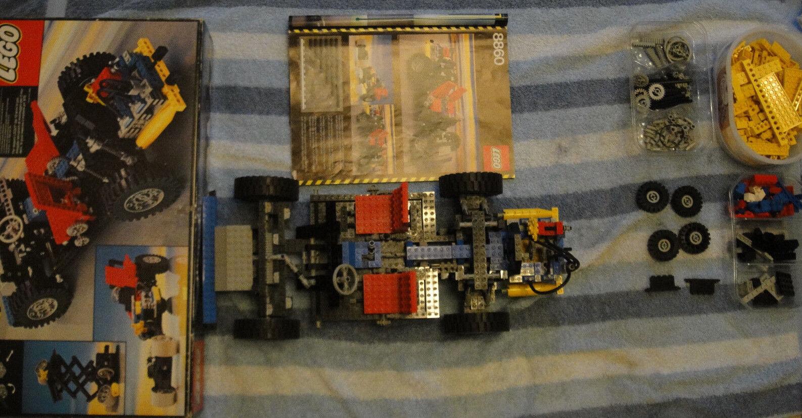 Lego vintage Legoland 8860 + 855 Technic Technik Car Auto mit OVP + BA