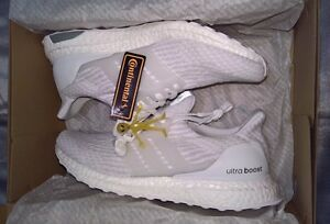 06db9fed750 Adidas Ultra Boost 3.0 Triple White Men s US Size 8 BA8841 BNIB