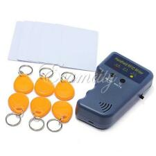 New RFID 125KHz EM4100 ID Card Copier Duplicator with 6 Writable Tags + 6 Cards