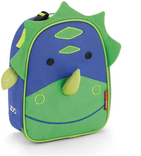 Skip Hop ZOO LUNCHIE INSULATED LUNCH BAG DINOSAUR Kids Lunch Bags