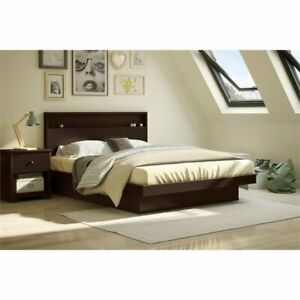 South-Shore-Basic-Queen-Platform-Bed-in-Chocolate
