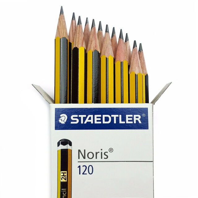 Staedtler Noris 120 Premium Office Pencils - 2H Grade - Box of 12