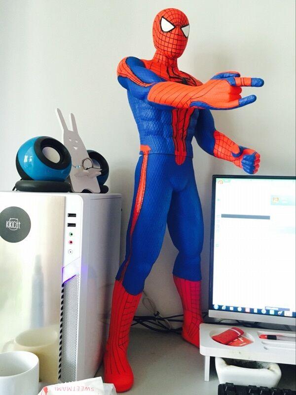 Super Taille GIANT Taille MARVEL SPIDER-homme GIANT FIGURE 30  75cm High  classique intemporel