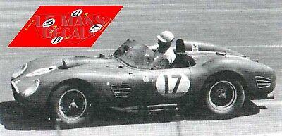 Calcas Ferrari 250 TR Le Mans 1960 17 1:32 1:43 1:24 1:18 slot decals