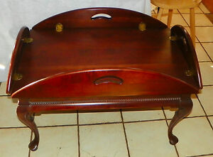 Ordinaire Image Is Loading Solid Cherry Butler Coffee Table By Gordons Of