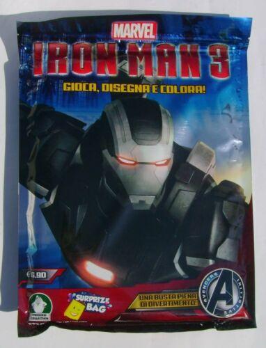 Iron Man 3 Busta Sorpresa Gioca /& Colora Preziosi Collection