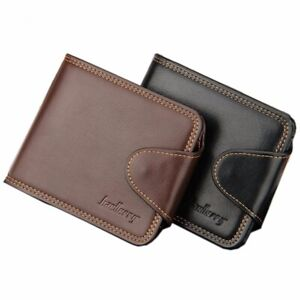 Genuine-Leather-Cowhide-Men-039-s-Bifold-Wallet-ID-Credit-Card-Holder-Coin-Purse