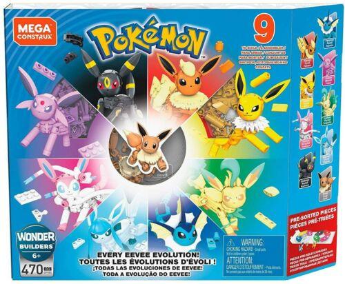 MATTEL Pokemon Eevee Bloc 470 Pièces GFV85 Japon Officiel Importation