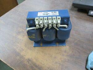 MTE-Line-Reactor-RL-02503-1-8mH-25A-600V-3Ph-50-60Hz-Used