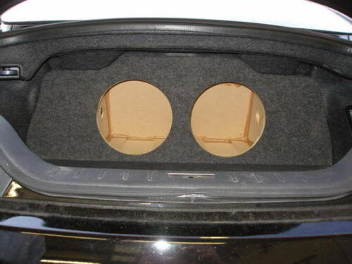 "Q60 Coupe 2-10/"" ZEnclosures Subwoofer Sub Box for the 2008-2016 Infiniti G37"