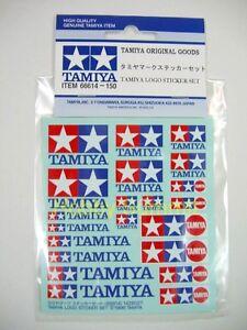 Tamiya-Original-LOGO-STICKER-Set-re-Static-R-C-Model-Kit-4WD-Truck-F-1-Decal