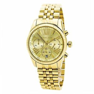 a79002301edd Michael Kors Mid-Size Lexington Chronograph MK5556 Wrist Watch for Women.  +.  99.70Brand New
