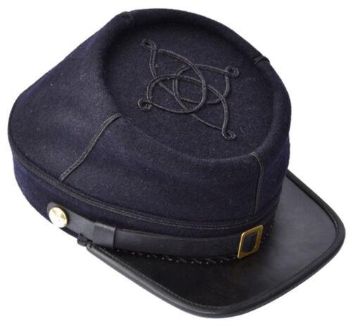 American Civil War Union 1st Lieutenant/'s Blue Kepi Hat Cap MEDIUM 56//57cms