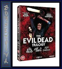THE EVIL DEAD - COMPLETE TRILOGY  **BRAND NEW DVD BOXSET **