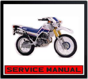 yamaha xt225 serow bike repair service manual in dvd ebay rh ebay com au yamaha xt225 service manual yamaha xt225 service manual free download