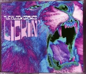 BLACK-CROWES-Lickin-039-EURO-PR0MO-CD-single