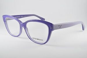 002b44aae66 Image is loading Emporio-Armani-Eyeglasses-EA-3033-5225-Transparent-Lilac-