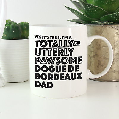 Personalized Dogue de Bordeaux Dog Dad Travel Mug Bordeaux Mastiff Dog Men Gifts Bordeaux Dog Daddy Present Gift French Mastiff Dog Owner