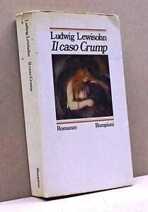 IL-CASO-CRUMP-L-Lewisohn-Libro-Bompiani-editore