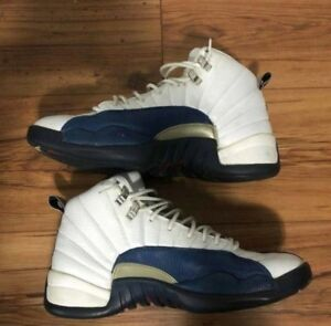 1e1644b46aa16c Nike Air Jordan French Blue Retro 12 2004 Size 11.5 Used Original
