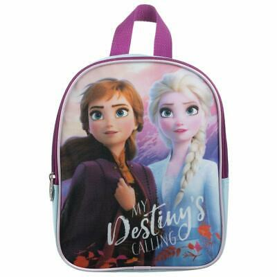 Disney/'s Frozen 2 II Elsa /& Anna Mini Backpack 10 Inches Brand New with Tags