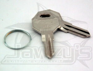DS-272101 Drag Specialties Replacement Key for Ignition Switch