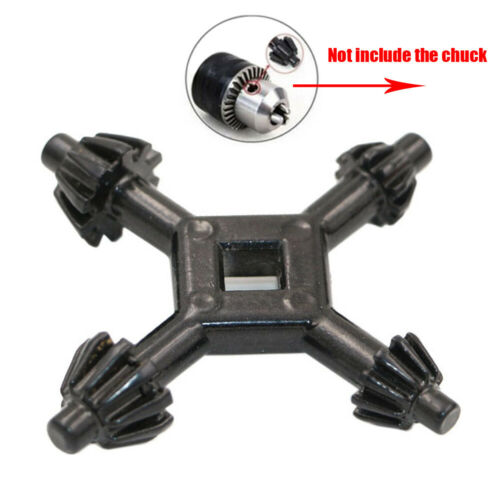4 Way Multifunction Universal Chuck Key Drill Drilling Holder Spanner Wrench