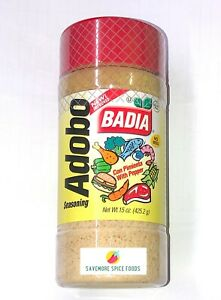 Adobo Seasoning Badia With Pepper 425 2g Ebay