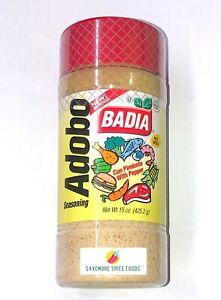 Adobo Seasoning Badia With Pepper 425 2g Ebay