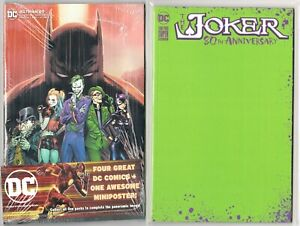 Walmart-DC-Batman-89-Joker-80th-1-Green-Blank-Variant-PUNCHLINE-ORIGIN-SET