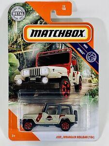 neu in OVP 72 Matchbox 2020 18# -  MBX Jungle Jeep Wrangler Rollbar