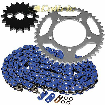 Blue O-Ring Drive Chain /& Sprocket Kit Fits SUZUKI GSX-R1300R Hayabusa 2008-2016