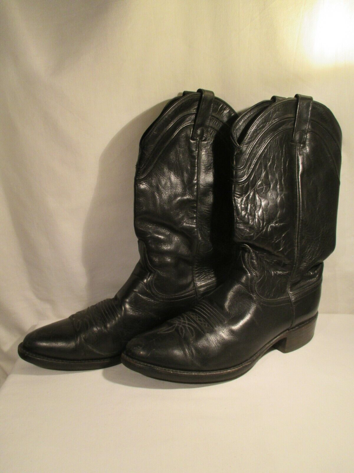 Vintage Dan Post USA Western Biker Boots 43 Punk New Wave Gothic Heavy Metal