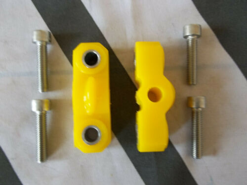 kit de perno de fijación de Acero Inoxidable Tapa De Enchufe MGTF MG TF Poly Perchas De Escape