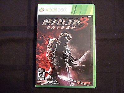 Replacement Case No Game Ninja Gaiden 3 Xbox 360 Ebay