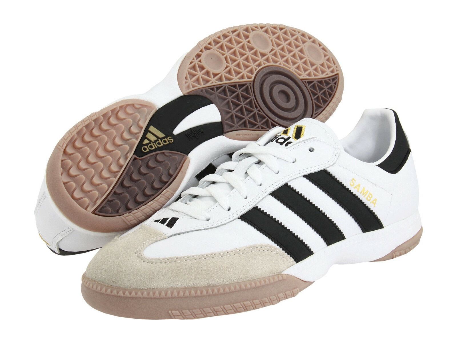Adidas bianco, samba del calcio indoor bianco, Adidas scarpe da ginnastica 661694 Uomo numero 7 9f0675
