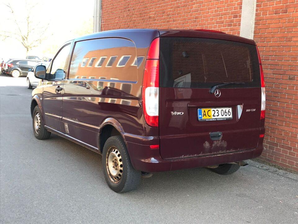 Mercedes Vito 111 2,0 CDi kort Diesel modelår 2004 km 247000