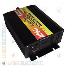 Power Inverter Professionale ad Onda Sinusoidale Pura 12V to 230V 1000W Watt