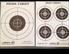 500 DOUBLE SIDED Shooting Targets 8.5x11 For Range Sniper Paper Target Air Soft
