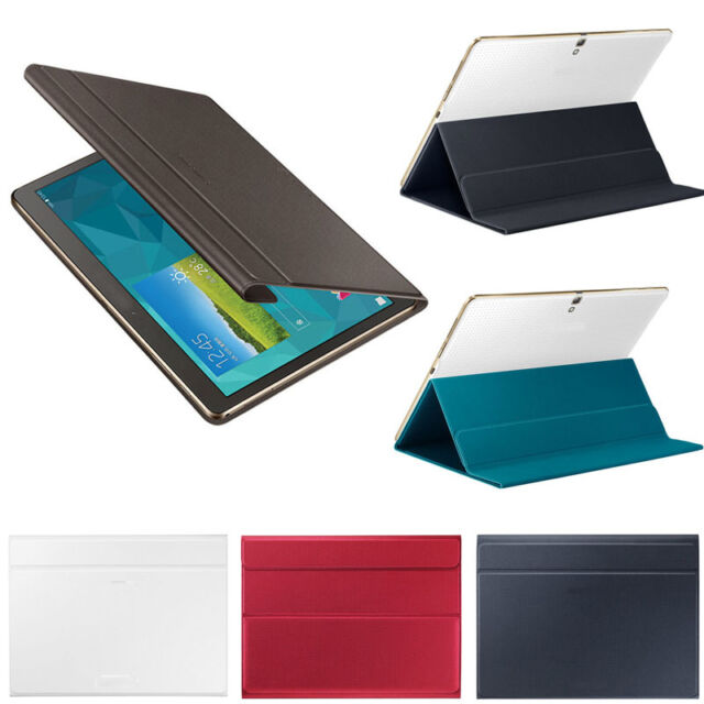 Ultra Slim Cover Case Stand For Samsung Galaxy Tab S 10.5 Inch SM-T800+Film +Pen