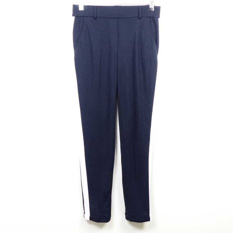 Opus Hose Pants Jogger Jogginghose Madeni Sport Sp Streifen Blau Weiß Gr. 36 S